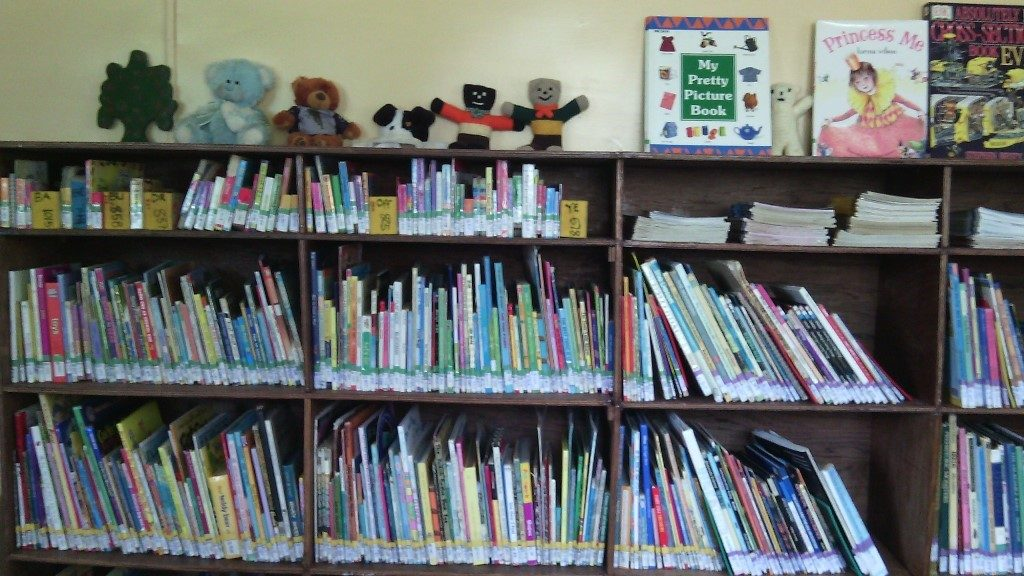 Bakanao Primary School Library - Inside