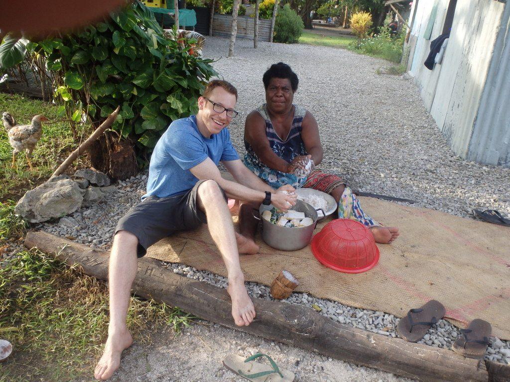 Ni-Vanuatu cooking - Moso Island