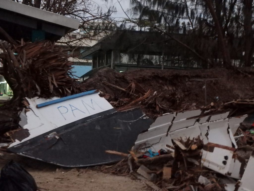 Cyclone Pam Destruction - Port Vila
